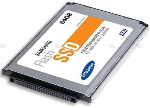 Ổ cứng dùng SSD:
