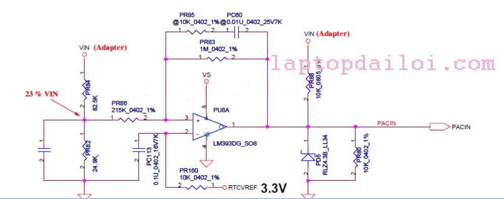 Phân tích mạch cấp nguồn đầu vào trên máy LENOVO Y430