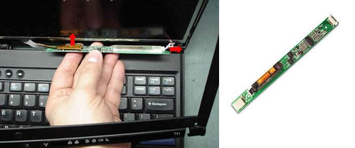 laptop không lên hình do bo cao áp
