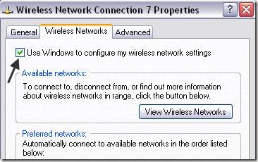 laptop không nhận wifi