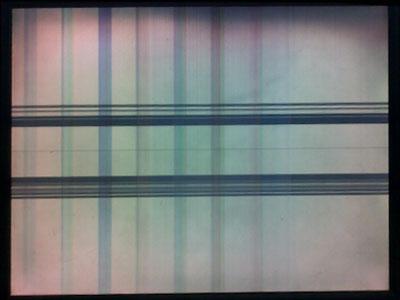 Biểu hiện khi màn hình bị mất điện áp âm -8V