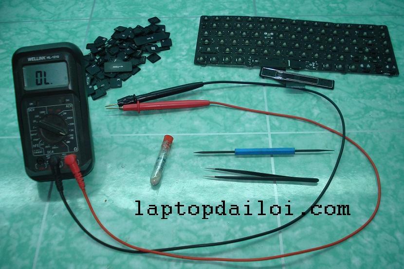 dụng cụ sửa bàn phím laptop